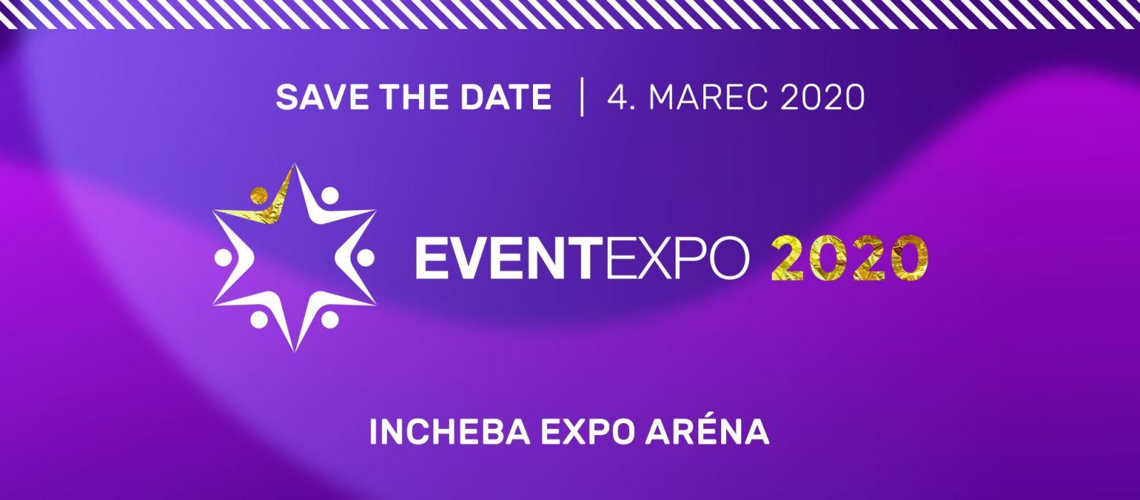 Jedinečný veletrh plný novinek a trendů. I takový bude pátý ročník eventového veletrhu EVENTEXPO 2020!