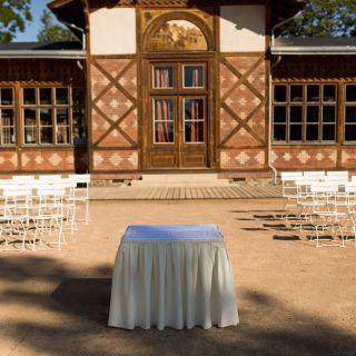 Pavilon Grébovka - Historická kuželna se sálem
