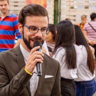 Moderátor Radim Sasyn