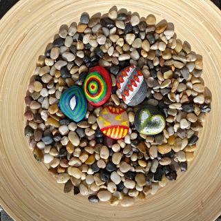 MOBILNÍ KREATIVNÍ VÝTVARNÉ DÍLNY - Malování na kameny
