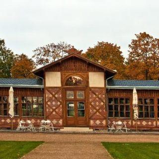 Pavilon Grébovka - Kavárna Grébovka
