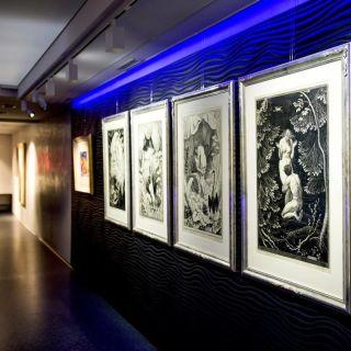 Art & Event Gallery Černá labuť - Levé křídlo