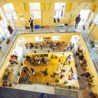 Pražské kreativní centrum - Dvůr