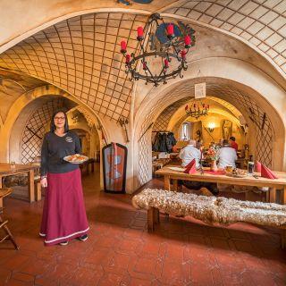 Hrad Vildštejn - Středověká restaurace