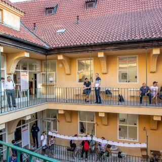 Pražské kreativní centrum - Klubovny Antonín a Benjamin