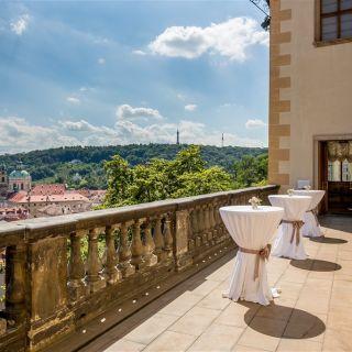Lobkowiczký palác - Pražský hrad - Terasa