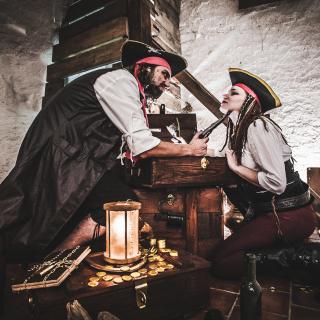 THE CHAMBER  - Real Life Gaming (mobilní) - Pirátské Truhly