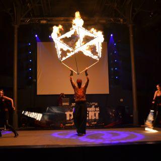 Pyroterra - Fire & Light show - DANCESHOW PYROTERRA