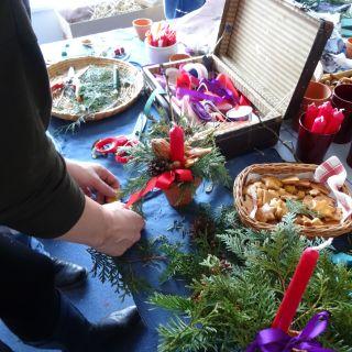 MOBILNÍ KREATIVNÍ VÝTVARNÉ DÍLNY - Vánoční kreativní dílna