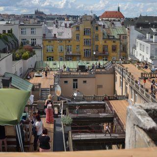 Střecha Lucerny