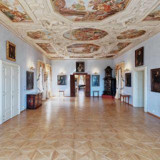 Lobkowiczký palác - Pražský hrad - Balkonový sál