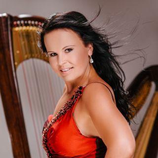 Harfistka Katarína Ševčíková