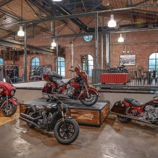 Indian Motorcycle Ostrava, Compress Hall