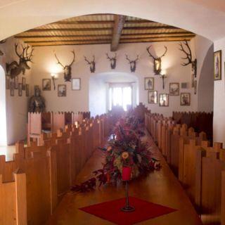 Hrad Vildštejn - Královský sál