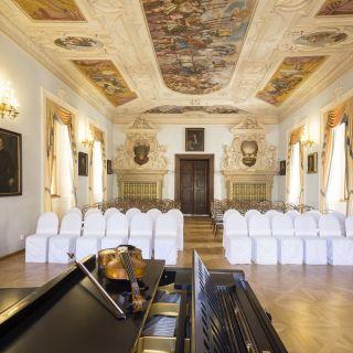 Lobkowiczký palác - Pražský hrad - Koncertní sál