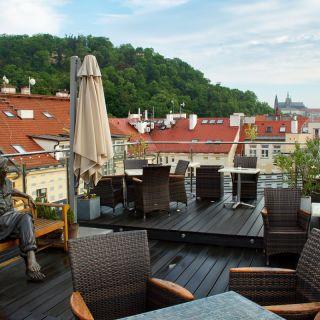 Hotel Julian - Terasa v Praze