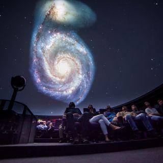 Planetárium Ostrava - Sál planetária