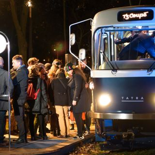 Vyhlídková tramvaj T3 Coupé