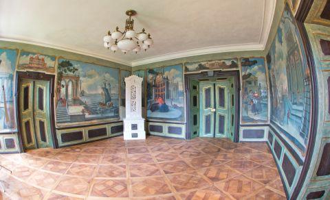 Hlavní zámecký sál a salónky