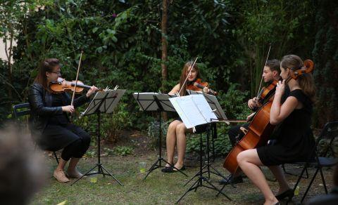 Smyčcové kvarteto Esferas