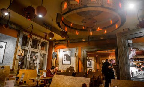 Kavárna klubu Cross