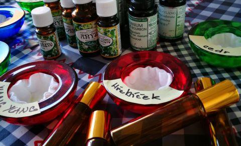 Osobní harmonizační parfém