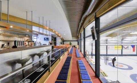 Curling aréna