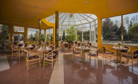 Lobby bar se zimní zahradou (Top Hotel)