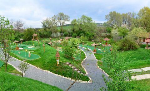 Putting-golfové hřiště