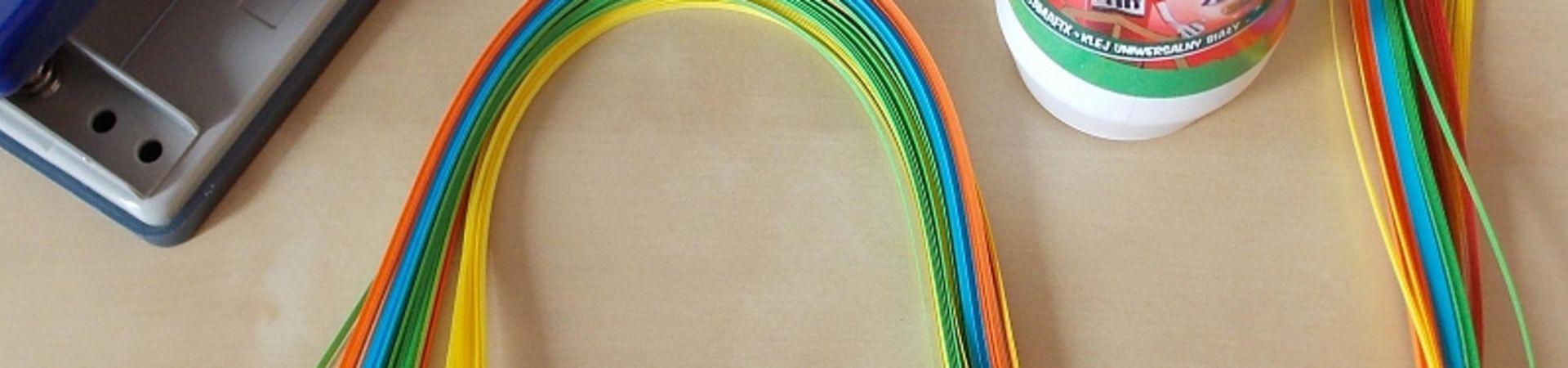 MOBILNÍ KREATIVNÍ VÝTVARNÉ DÍLNY - Quilling – tvoření z proužků papíru