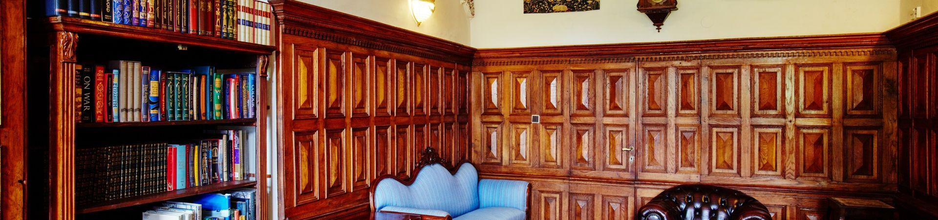 Chateau Hostačov - Knihovna