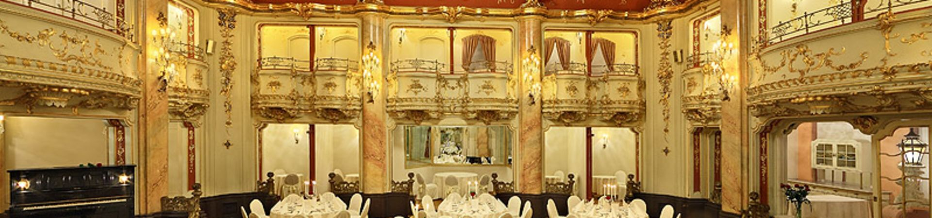 Grand Hotel Bohemia Prague - Sál Boccaccio