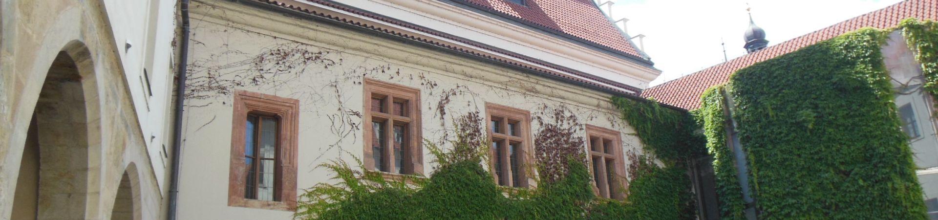 Novoměstská radnice - Nádvoří