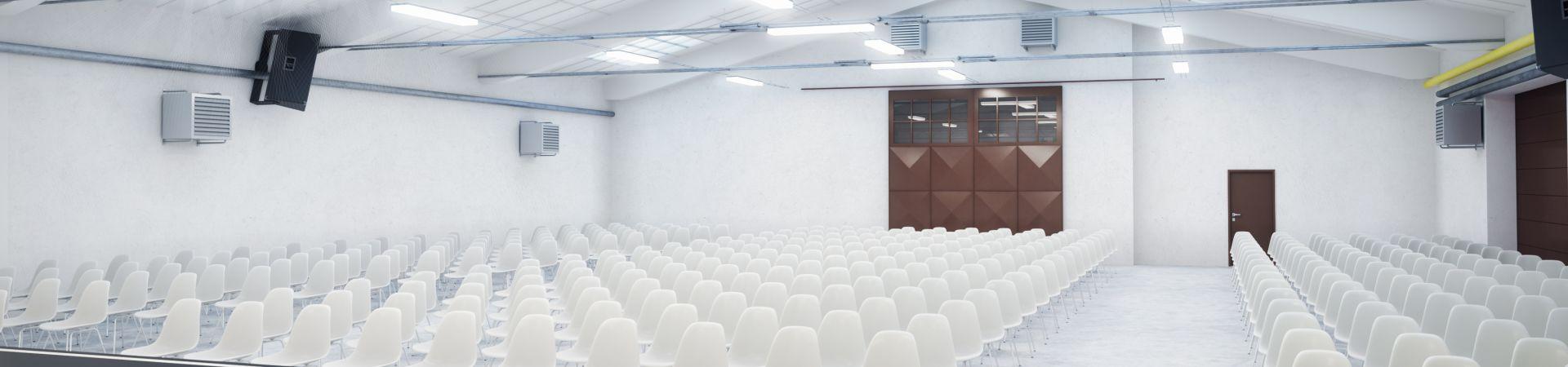 VÝTAHÁRNA Papírenská - Velká hala 250m