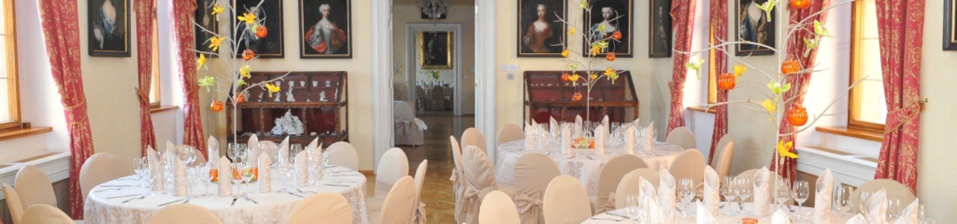 Lobkowiczký palác - Pražský hrad - Rokokový sál