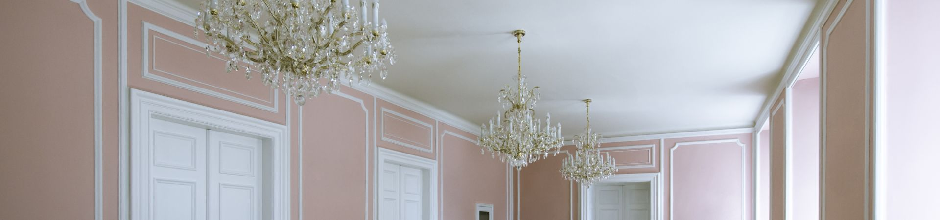 Hartigovský palác - Růžový sál