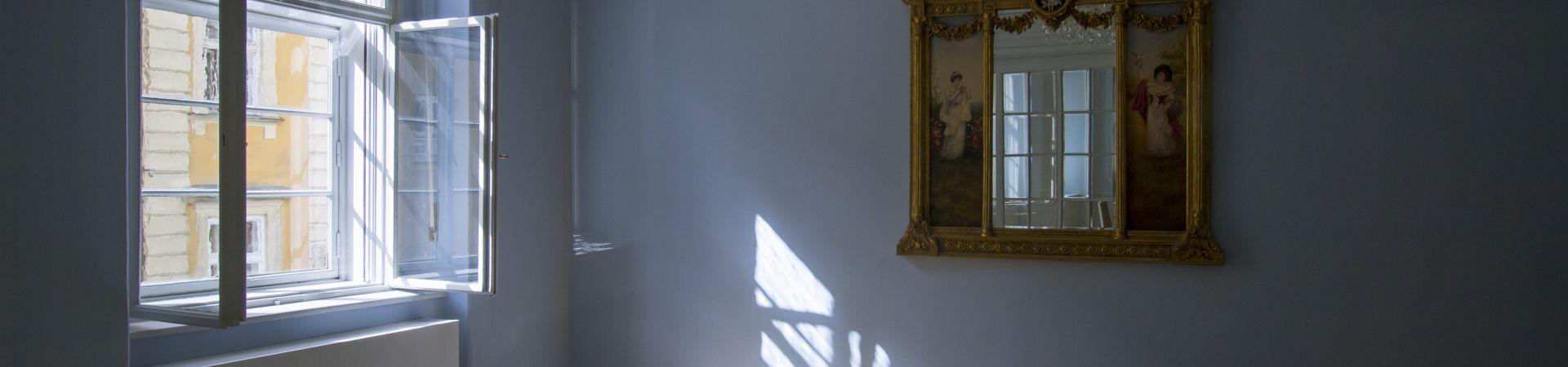 Hartigovský palác - Malý Modrý sál