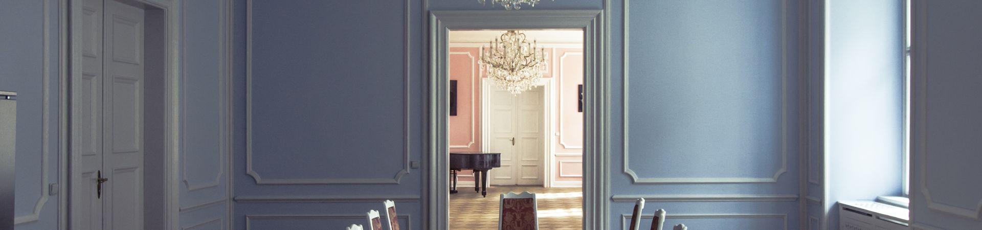 Hartigovský palác - Modrý sál