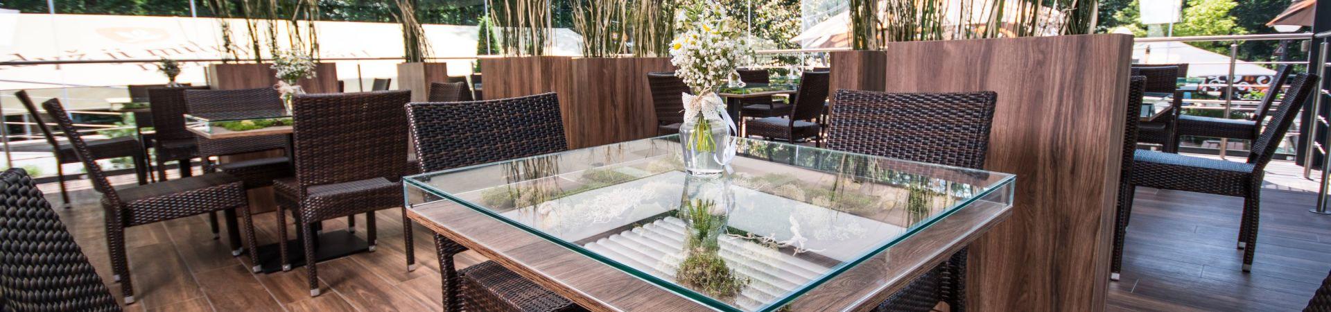 Restaurace a penzion Zděná bouda - Zimní zahrada