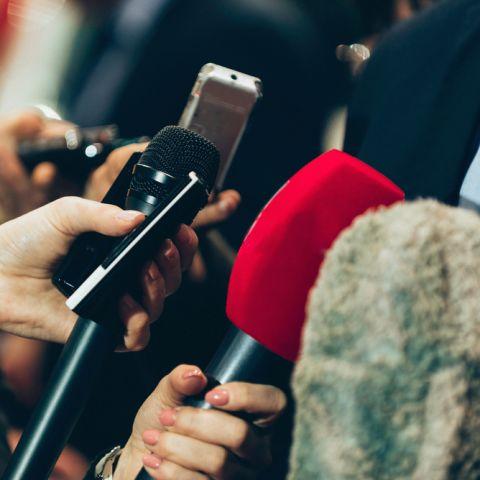 Prostory pro tiskovou konferenci Praha