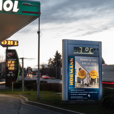 CLV na čerpacích stanicích